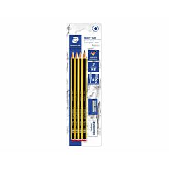 Staedtler Noris Pencil Set HB with Eraser and Sharpener