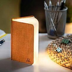 Gingko Mini Linen Smart Book Light Orange