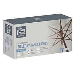 The Outdoor Living Company 80 Parasol LED Lights