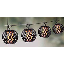 The Outdoor Living Company 10 Flickering Lantern Lights