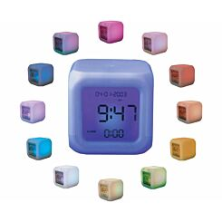 Mayhem Colour Changing Aurora Alarm Clock
