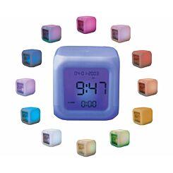 Mayhem Colour Changing Aurora Alarm Clock