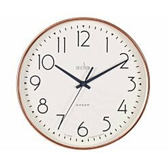 Acctim Earl Rose Gold Wall Clock