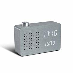 Gingko Radio Click Clock Alarm