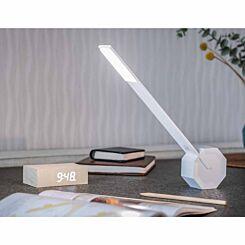 Gingko Octagon One Desk Lamp White