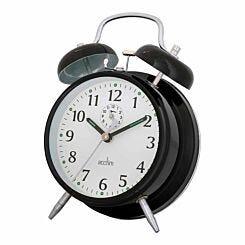 Acctim Saxon Double Bell Alarm Clock