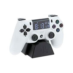 PlayStation 4 White Controller Alarm Clock