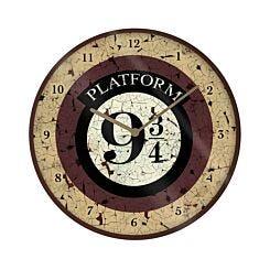 Harry Potter 9 3/4 10'' Wall Clock