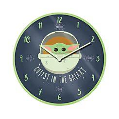 Mandalorian Grogu 10'' Wall Clock