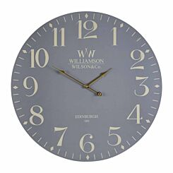 Premier Housewares Classical Wall Clock 60cm Grey