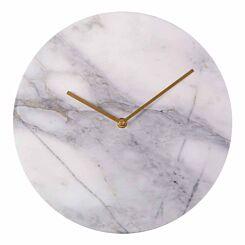 Premier Housewares Lamonte Marble Wall Clock 30cm