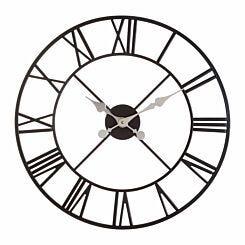 Premier Housewares Vitus Metal Wall Clock 56cm