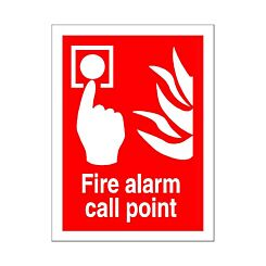 PVC Sign Fire Alarm Call Point 150x200mm