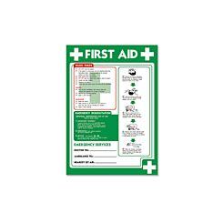 PVC Poster First Aid 420x595mm