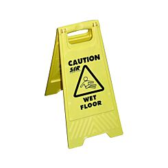 Wet Floor Sign A Type