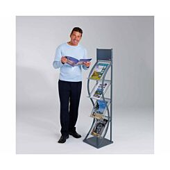 Metroplan Wave Freestanding Leaflet Dispenser