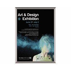 Metroplan BusyGrip Aluminium Snap Poster Frame A1