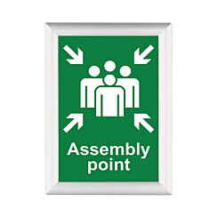 BusyGrip Coloured Poster Frame A3 420 x 297mm White