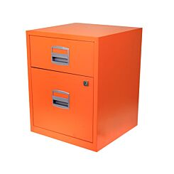 Bisley A4 2 Drawer Filing Cabinet on Wheels