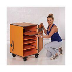 Metroplan Multi-Media Projector Cabinet Orange