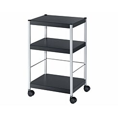 Fast Paper Multipurpose 3 Shelf Trolley Small