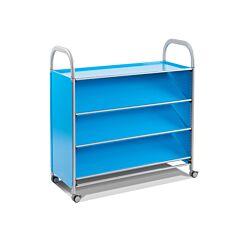 Callero Tilted Shelf Unit With 3 Shelves