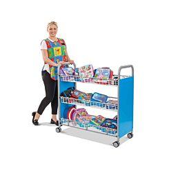 Gratnells Lunchbox Trolley