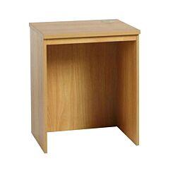 R White Base Level Desk B-DLK H728xW600xD540mm English Oak