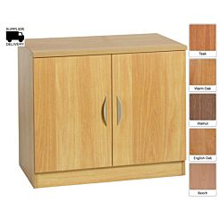 R White Double Cupboard B-C85 H728xW850xD540mm