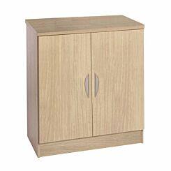 R White Desk Cupboard 720mm Height Sandstone