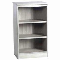 R White Mid Height Bookcase 600mm Wide Grey Nebraska