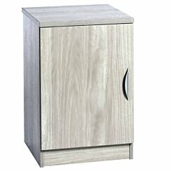 R White Single Cupboard B-C48 H728xW479xD540mm Grey Nebraska