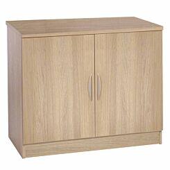 R White Double Cupboard B-C85 H728xW850xD540mm Sandstone