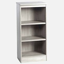R White Mid Level Bookcase M-B48 H1032xW479xD370mm Grey Nebraska