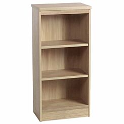R White Mid Level Bookcase M-B48 H1032xW479xD370mm Sandstone