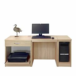 R White Home Office Furniture Desk Sandstone