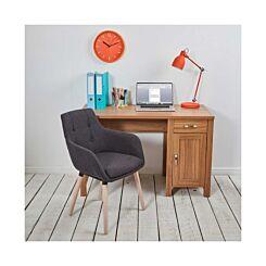 Sherwood Cherry Oak Effect Workstation/Desk