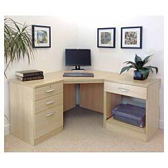 R White Home Office Corner Desk