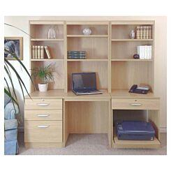 R White Home Office Desk Workstation