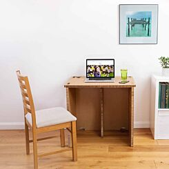 The Paper Hive Pop Up Cardboard Desk 800 x 600mm