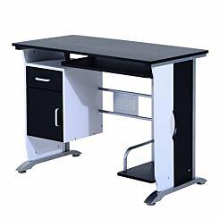 Meldon Compact Computer Desk Black