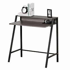 Emerson 2-Tier Laptop Study Desk Grey