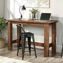 Teknik Office Counter Height Work Bench Oak
