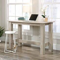 Teknik Office Counter Height Work Bench Chestnut