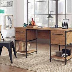 Teknik Office Iron Foundry Double Pedestal Desk