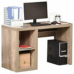 Kanaan Heavy Duty Computer Desk with Shelves