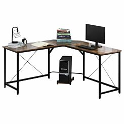 Bella Industrial L-Shape Computer Desk