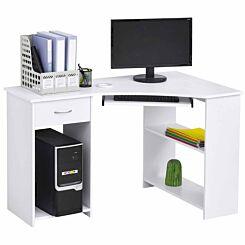 Badell L-Shaped Corner Computer Desk with Storage