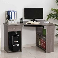 Badell L-Shaped Computer Desk with Storage