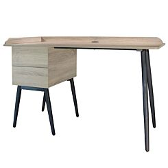 Piper Desk with 2 Drawers